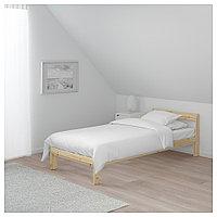 НЕЙДЕН Каркас кровати, сосна, 90x200 см, фото 1