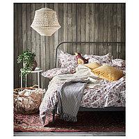 КОПАРДАЛЬ Каркас кровати, серый, 140x200 см, фото 1