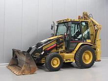 """Экскаватор погрузчик """"Петушок"""" Caterpillar 442D"""