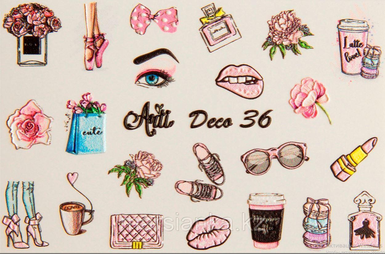 Слайдер дизайн ArtiForYou Deco 3D #36