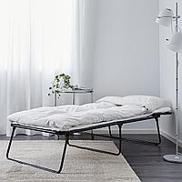 ФЛЕММА Дополнительная кровать, серый, 73x197 см, фото 1