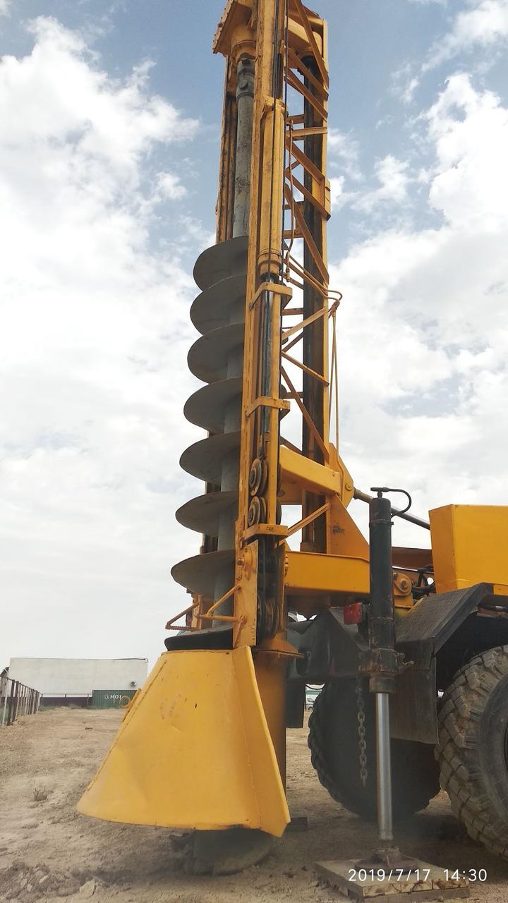 Аренда буровой установки ямобура МРК 750 на базе ЗИЛ 131