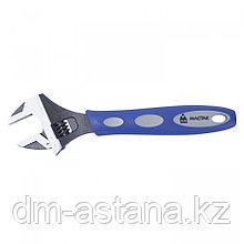 МАСТАК Ключ разводной 250 мм, эргономичная ручка, держатель МАСТАК 020-10250H