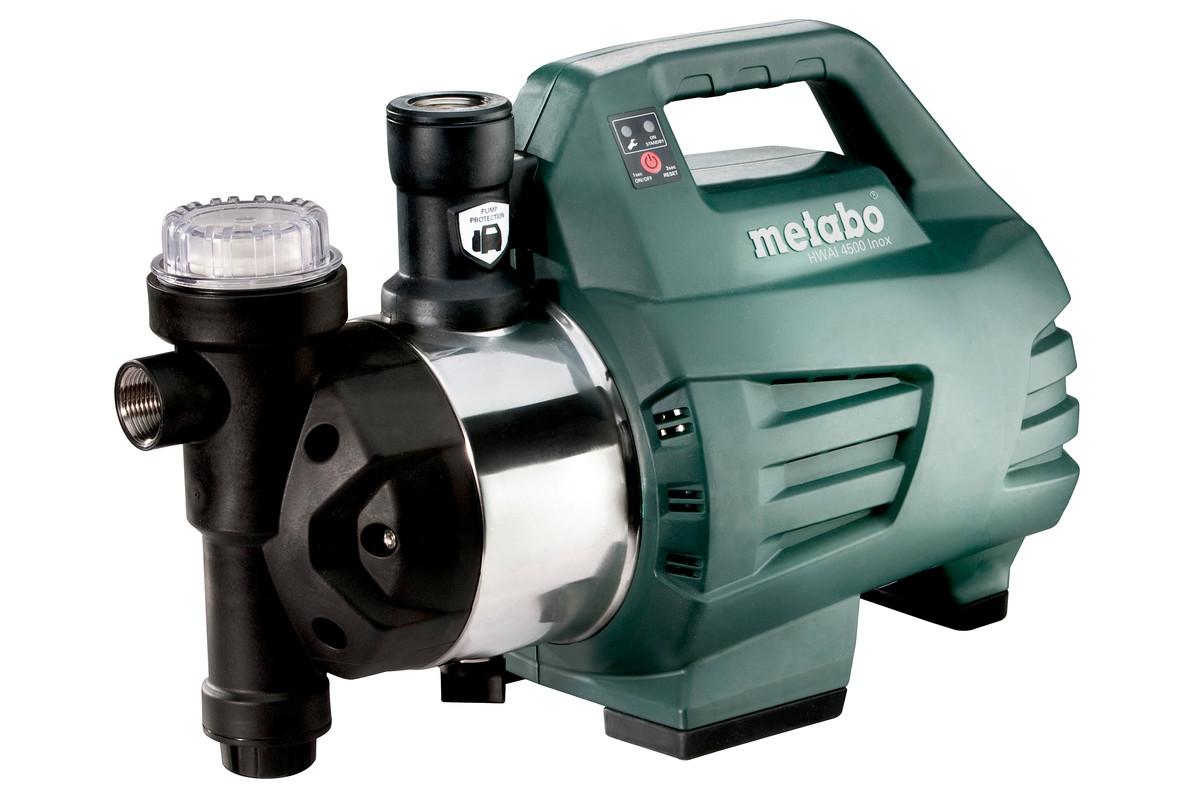 Автоматический насос для домового водоснабжения Metabo HWAI 4500 Inox