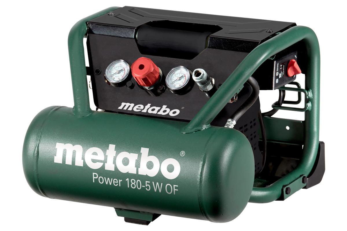 Безмаслянный компрессор METABO POWER 180-5 W OF