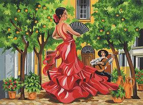 """Картины по номерам - """"Испанский танец"""""""