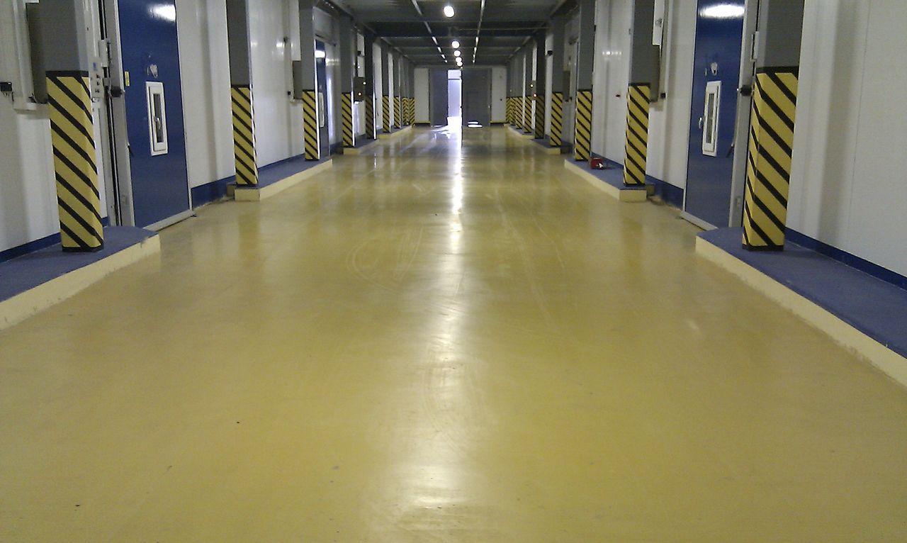 Покрытие бетонных полов в промышленных зданиях