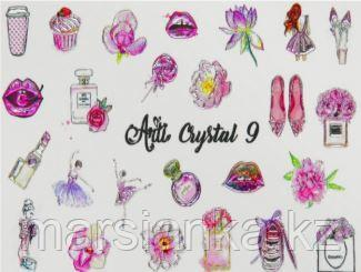 Слайдер дизайн ArtiForYou Crystal #9