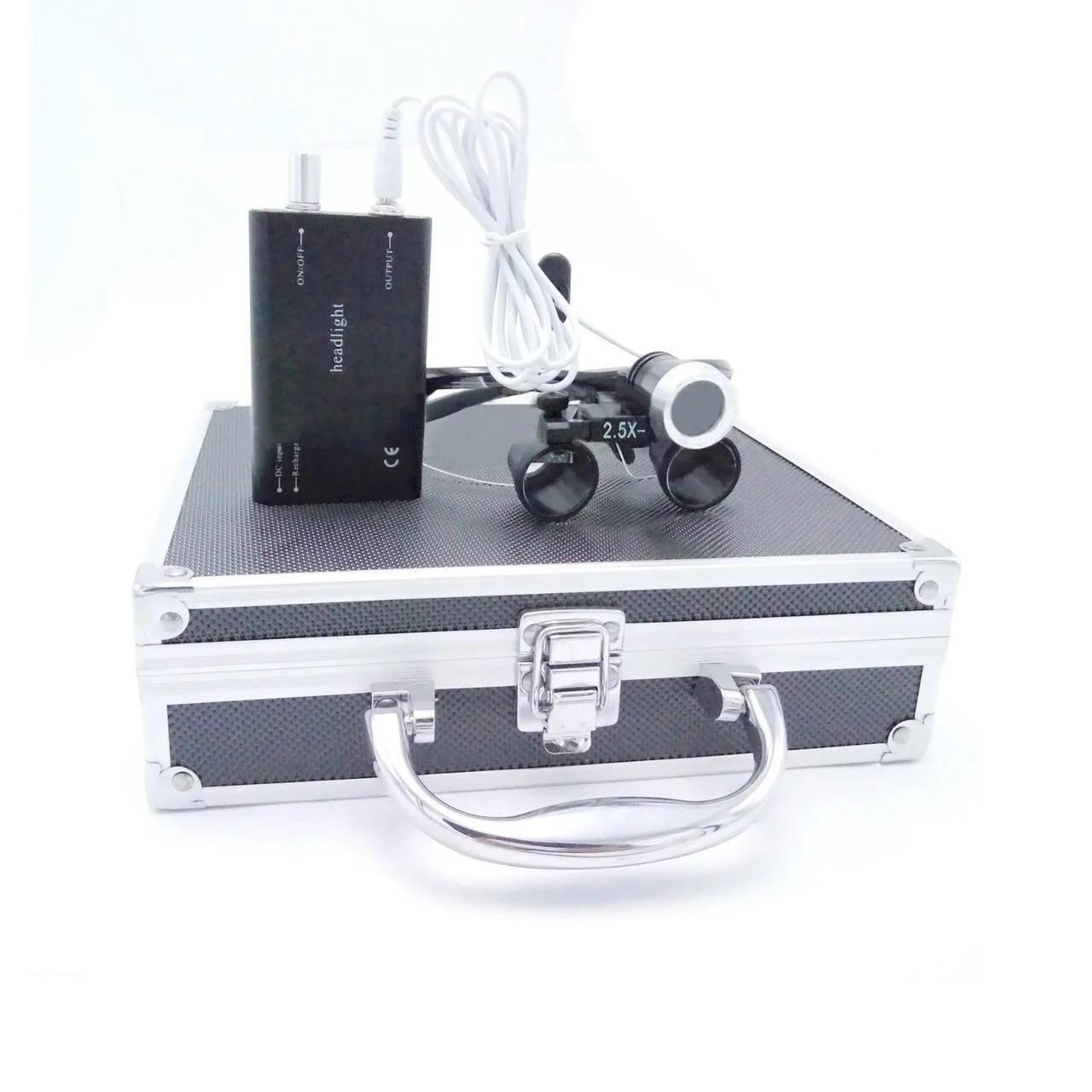 Комплект бинокуляры B1 2.5x-420 + подсветка