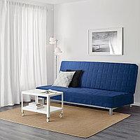 БЕДИНГЕ 3-местный диван-кровать, Шифтебу синий темно-синий, фото 1