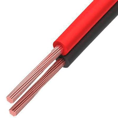 Кабель 01-6104-6 акустический ШВПМ 2*0,75 мм2, красно-черный, (бухта 100 м)