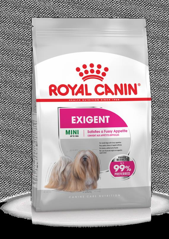 Корм Royal Canin Mini Exigent для маленьких взрослых собак, привередливых в питании - 3 кг