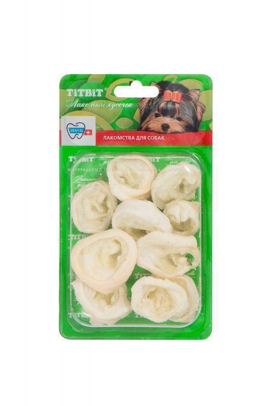 Ухо баранье внутреннее для собак, TitBit - 20 г