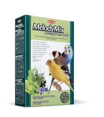 Корм Padovan MeodyMix для зерноядных птиц - 300 г