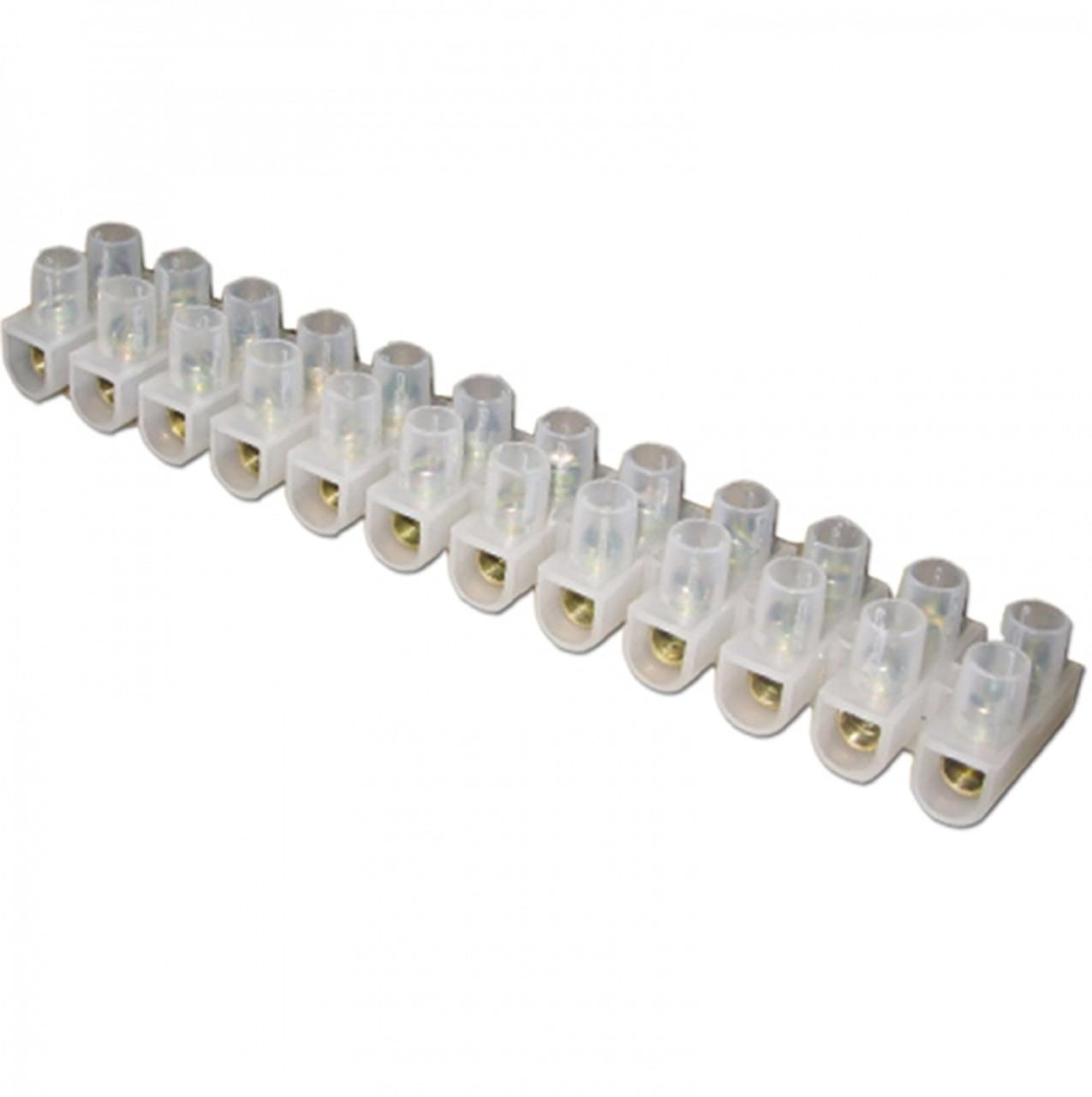 Клеммные колодки полиэтиленовые 100 А (по 12 шт. в колодке)