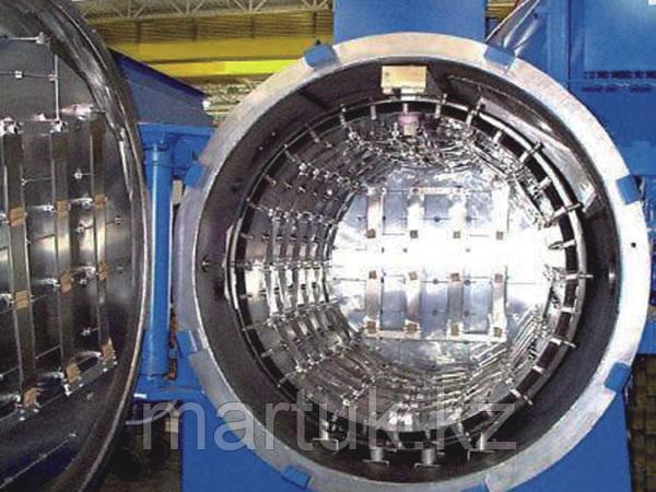 Горизонтальная однокамерная вакуумная печь для закалки под высоким давлением OVHP
