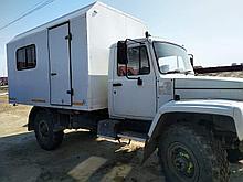 Вахтовый автобус 14+2 мест на базе ГАЗ 33081 Садко
