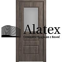 Межкомнатная дверь Форма ПО Алессандро 35*600*2000, Дуб шале графит