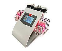 Аппарат 6в1 кавитация РФ лазерный липолиз