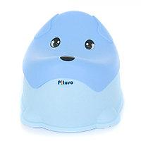 Детский горшок Pituso Пёсик Голубой Blue, фото 1