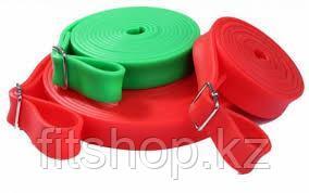 Резиновая лента для фитнеса 2,5 метра (жгут силовой универсальный) - фото 1