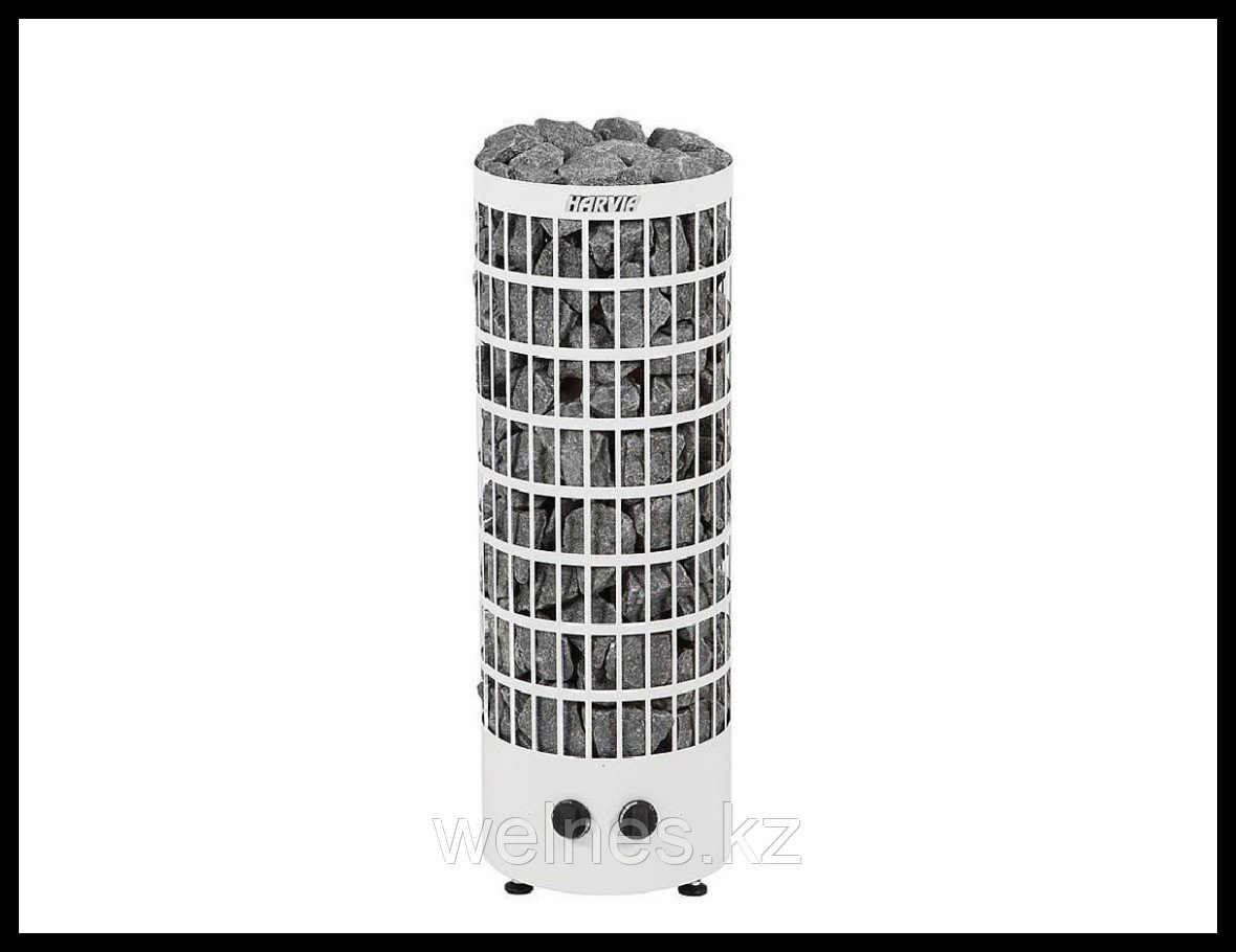 Электрическая печь Harvia Cilindro PC70V (белая, со встроенным пультом)