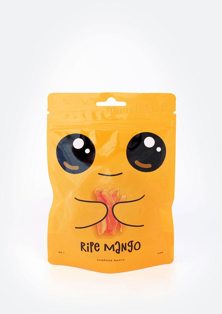 "Сушёное манго ""RIPE MANGO"" (без сахара) ,80 г"