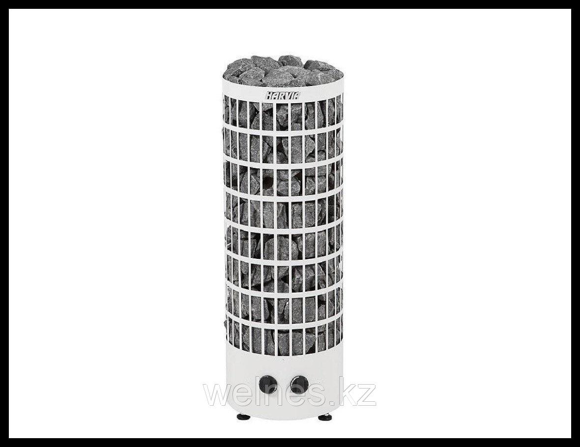 Электрическая печь Harvia Cilindro PC90V (белая, со встроенным пультом)