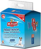 Пеленки гелевые Mr.Fresh Regular - 90x60 см - 8 шт