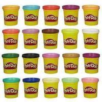 Hasbro Play-Doh Игровой набор пластилина из 20 баночек.