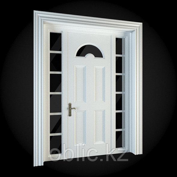 Декоративное обрамление двери 1