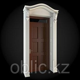 Декоративная накладка входной двери №4