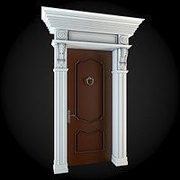 Декор-фасад двери №5