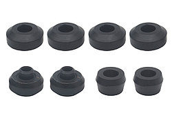 Сайлентблоки и резиновые втулки разных размеров для амортизаторов Nissan Patrol Y60 и Y61