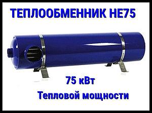 Теплообменник для бассейна He 75 (75 кВт)