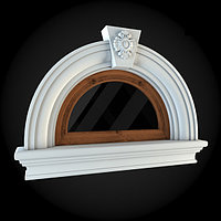 Фасад окна кукушка №2