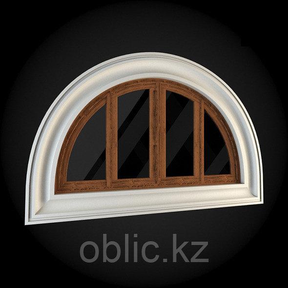 Декорирование обрамления окна кукушка №3