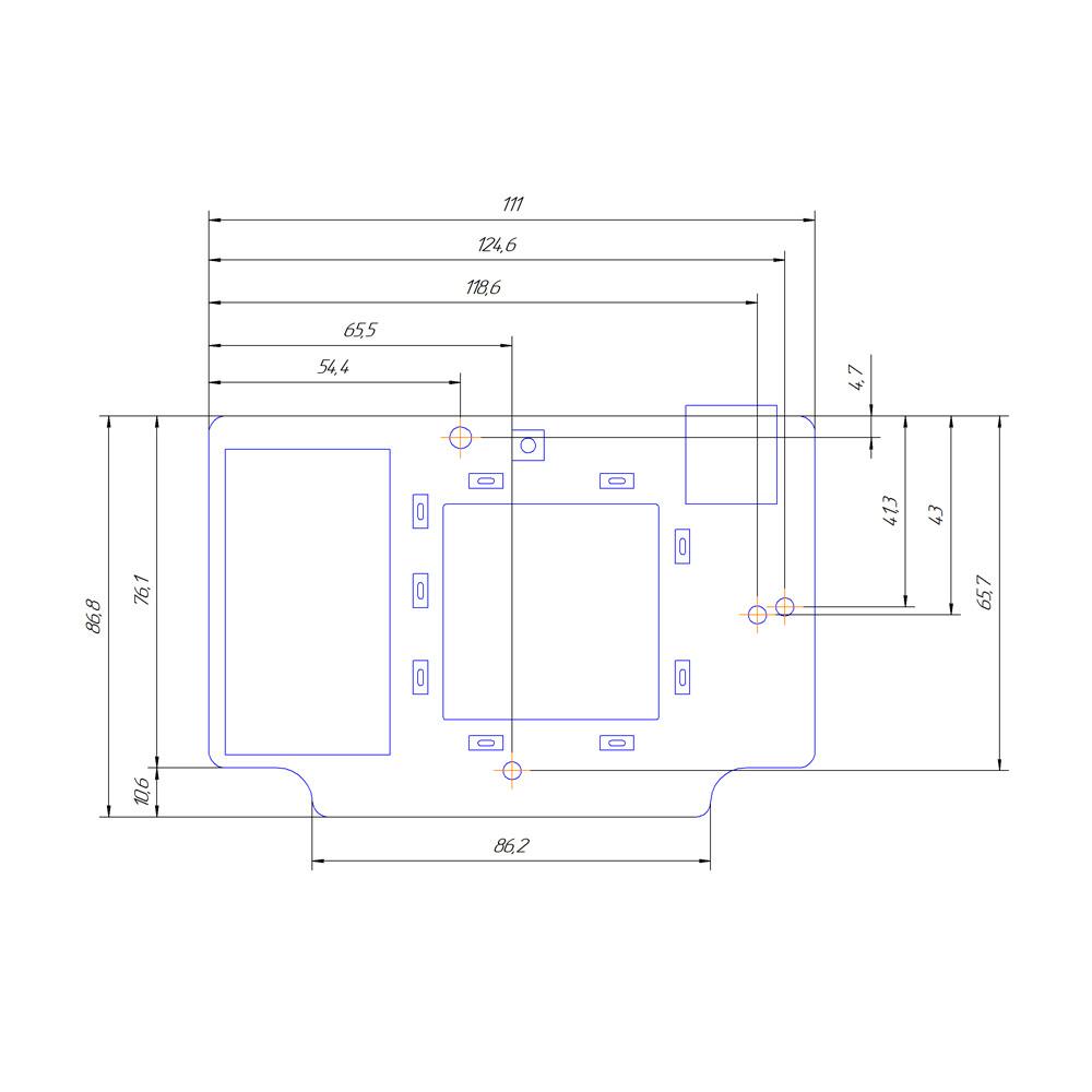 Роутер Kroks Rt-Brd eQ с mPCI-модемом Quectel EC25-E для установки в гермобокс - фото 4