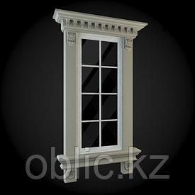 Фасад квадратного окна №6