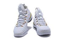 """Баскетбольные кроссовки Nike LeBron XV (15) """"White/Gold"""", 45EUR размер, фото 5"""