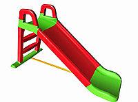 Детская горка Doloni красно-зеленый