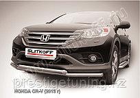 Защита переднего бампера d76  Honda CR-V 2012-