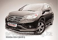 Защита переднего бампера d57 Honda CR-V 2012-