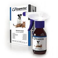 Спрей Inspector против внешних и внутренних паразитов для кошек и собак - 100 мл