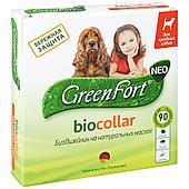 Ошейник от эктопаразитов Green Fort для средних пород собак - 65 см