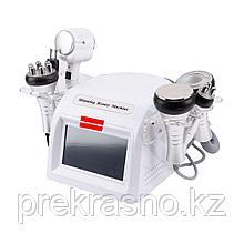 Аппарат 6в1 RF вакуум кавитация микротоки молоточек
