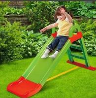 Детская горка Doloni зеленый, фото 1
