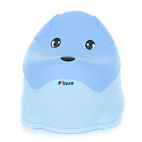 Детский горшок Pituso Пёсик голубой, фото 1