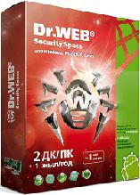 Dr.WEB Security Space на 2 ПК / 1 год