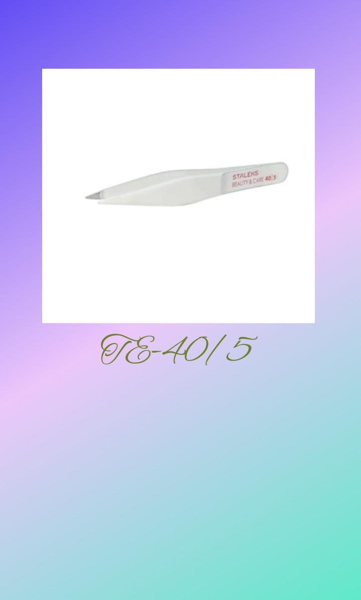 Пинцет Staleks TE-40/5